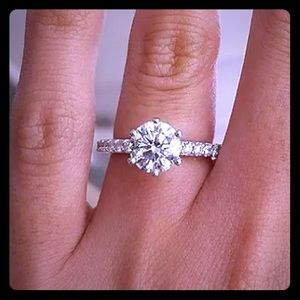 Coming Soon! Stunning Solitaire CZ Ring!